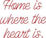 Home is Where the Heart Is Single Stroke