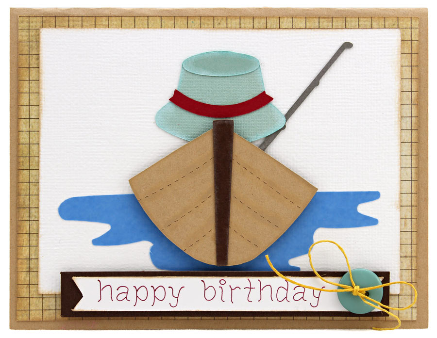 Pazzles Cutting Files Pazzles Cutting Collection Gone – Fish Birthday Cards