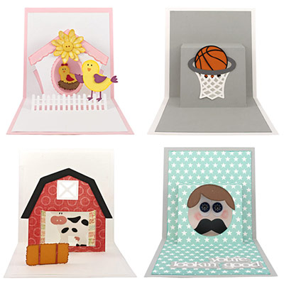 Pop-Up Window Card Cutting Collection