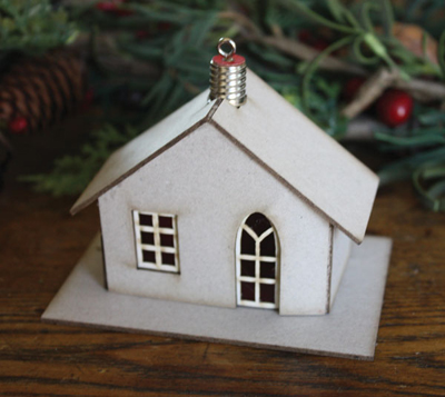 Melissa Frances Ornament House Cottage Kit
