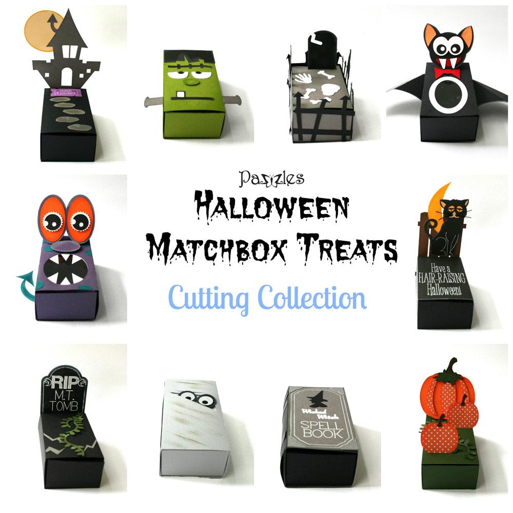 Halloween Matchbox Treats Cutting Collection