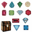 Treasure Chest Gems Cutting Collection