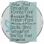 Journaling Font 1 - Physical Media (CD)