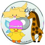 CD 11: Animal Paper Piecings
