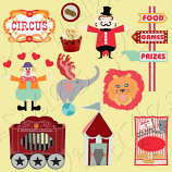 Traveling Circus Cutting Collection