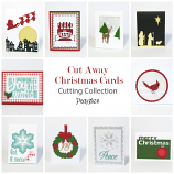 Cut Away Christmas Cards Cutting Collection