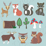 Woodland Friends Cutting Collection