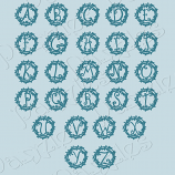 Floral Monograms Cutting Collection