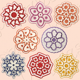 Cut and Fold Medallions