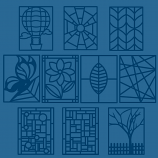 Stained Glass Window Cutting Collection