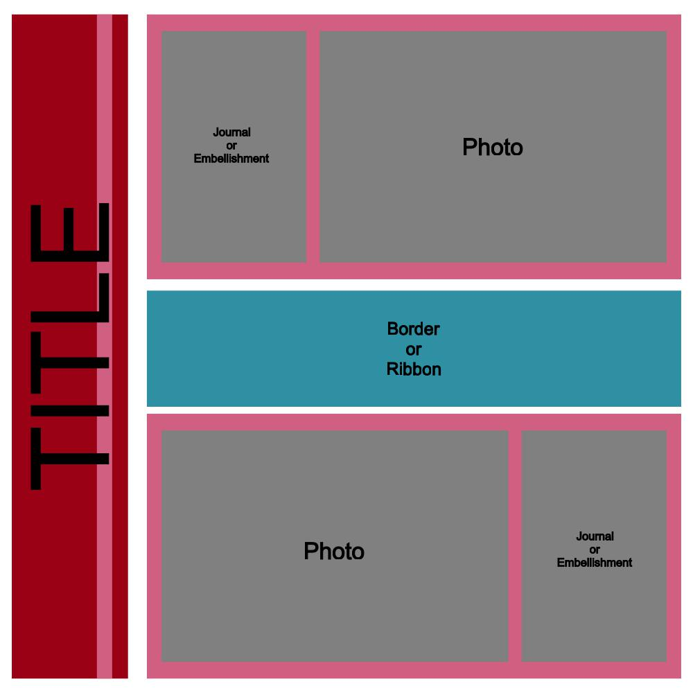 2 Photo Layout Template
