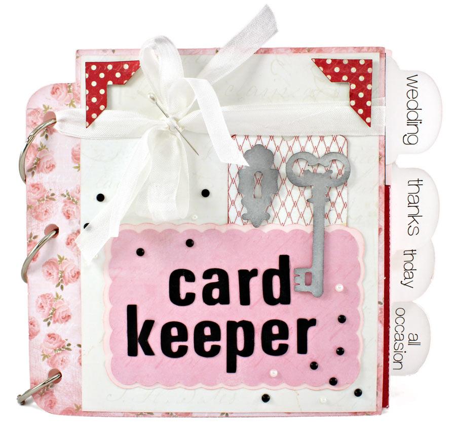 3-Ring Album Pocket Card Keeper Front