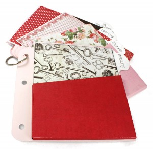 3-Ring Album Pocket Card Keeper Pages