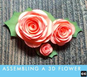 Assembling A 3D Flower