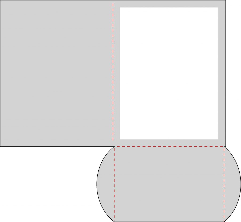 4.25 x 5.5 Pocket Card Template with instant SVG download. Compatible with all major electronic cutters including Pazzles Inspiration, Cricut, and Silhouette Cameo.