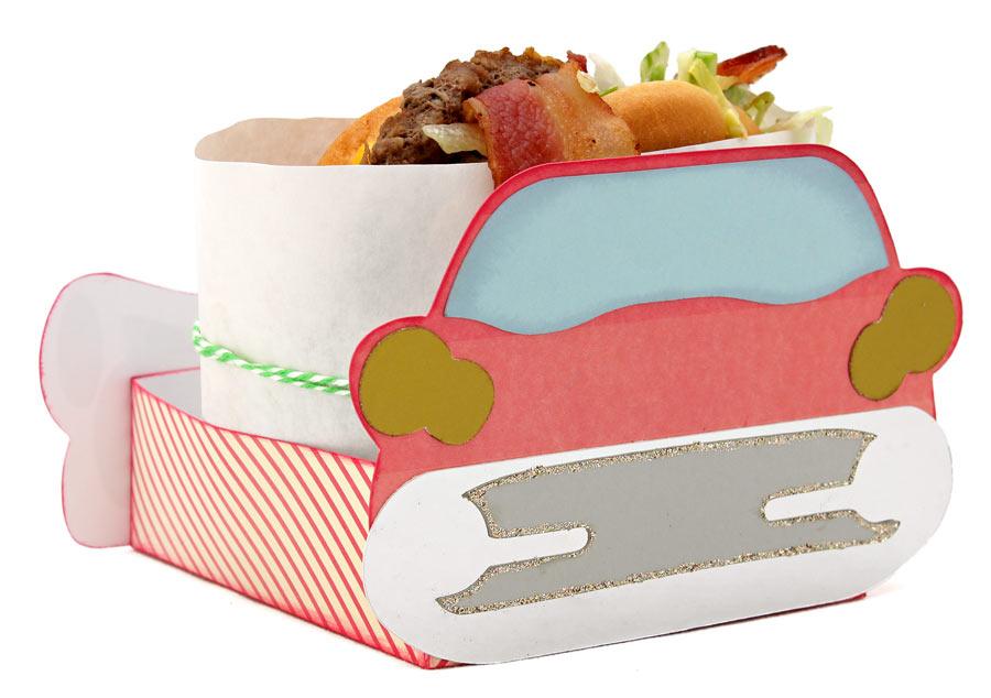 50s Diner Classic Car Hamburger Holder