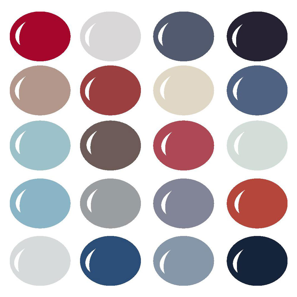 Americana Color Palette