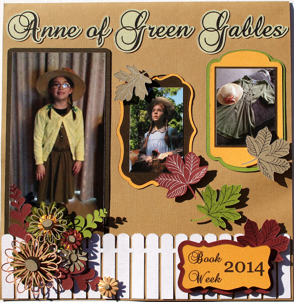 Fall thankful box using the outline feature pazzles for Anne of green gables crafts