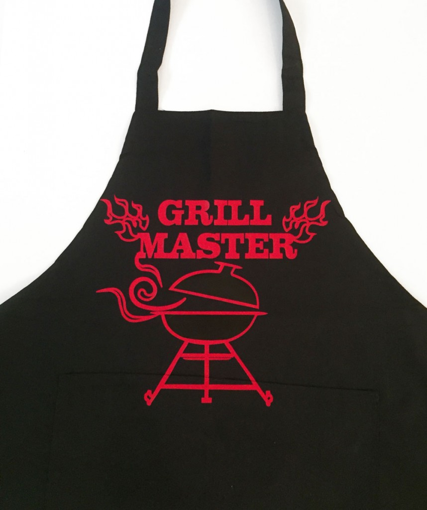 Heat Transfer Vinyl Father's Day Apron