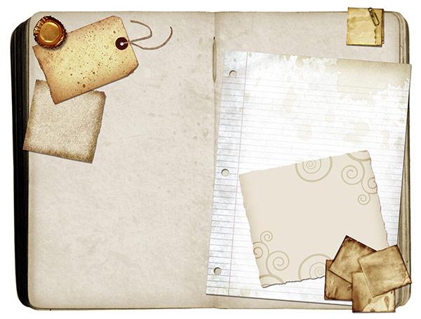 Art Journaling Blank Page