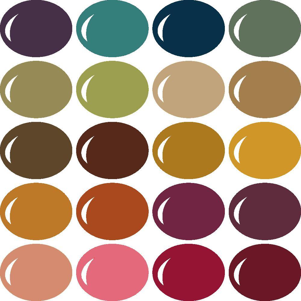 InVue Color Palette: Autumn Harvest 3