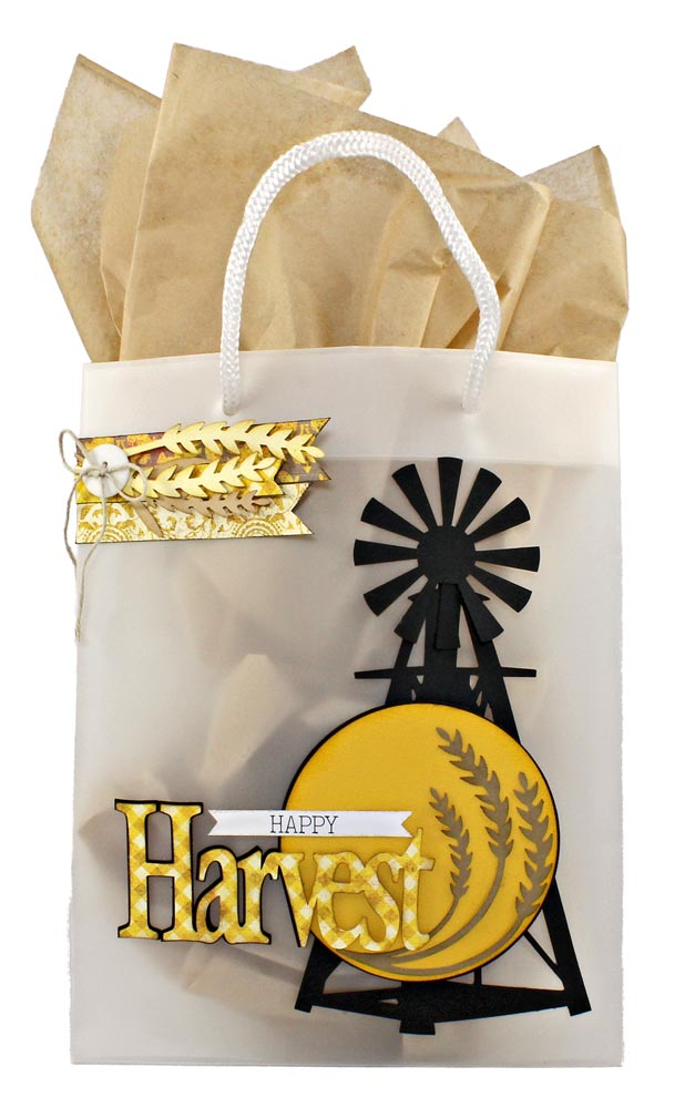 Autumn Harvest Example Project Gift Bag