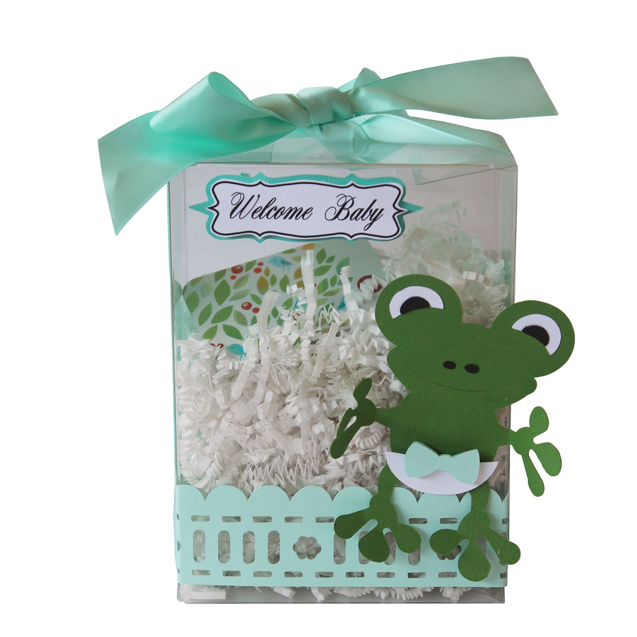 Baby Shower Frog Gift Box