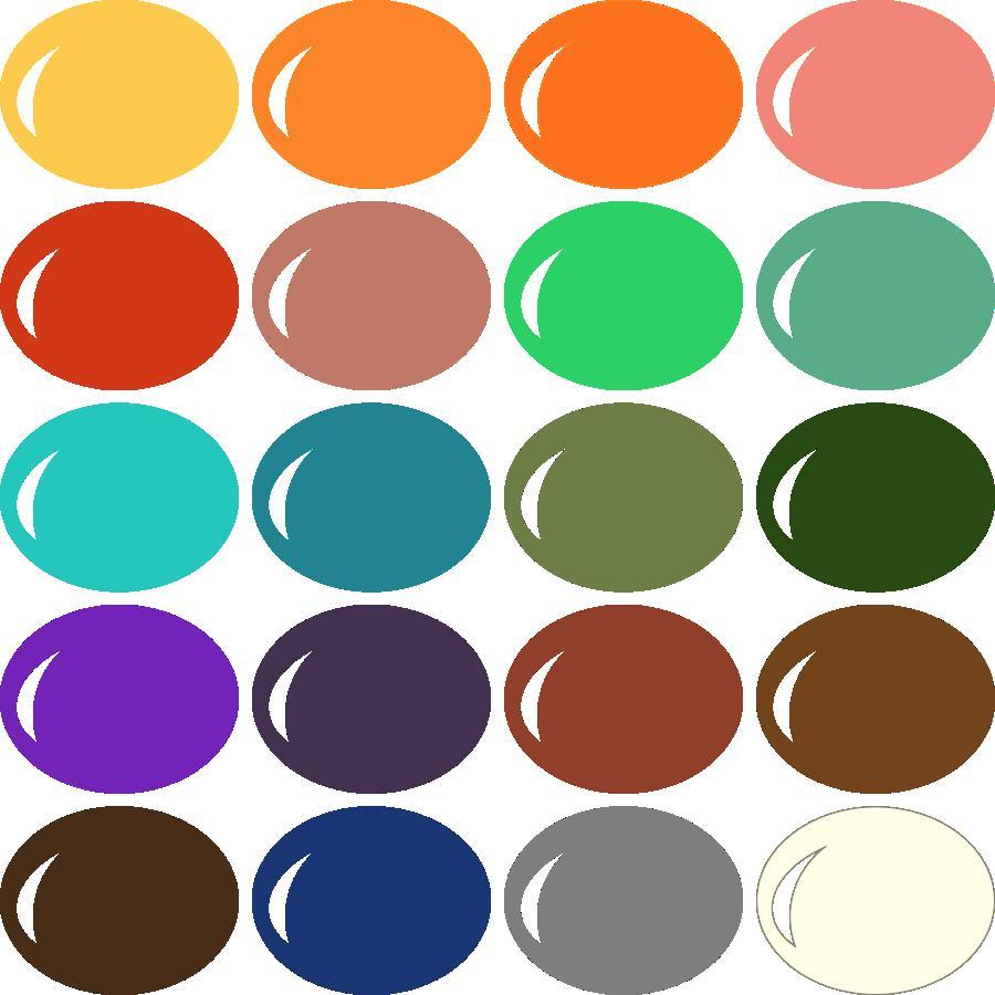 InVue Color Palette: Basic Autumn