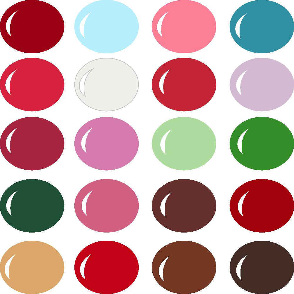 InVue Color Palette: Be My Valentine