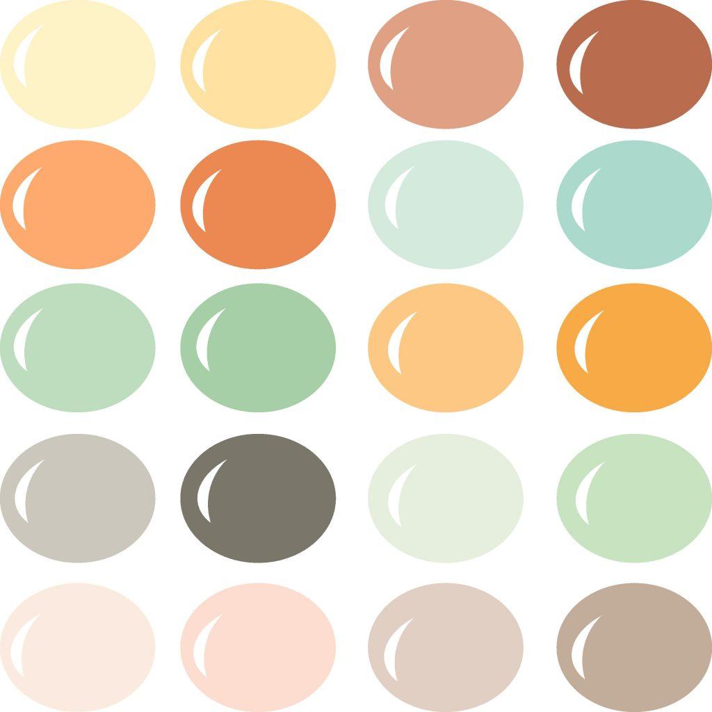 Pazzles InVue Boho Chic Color Palette
