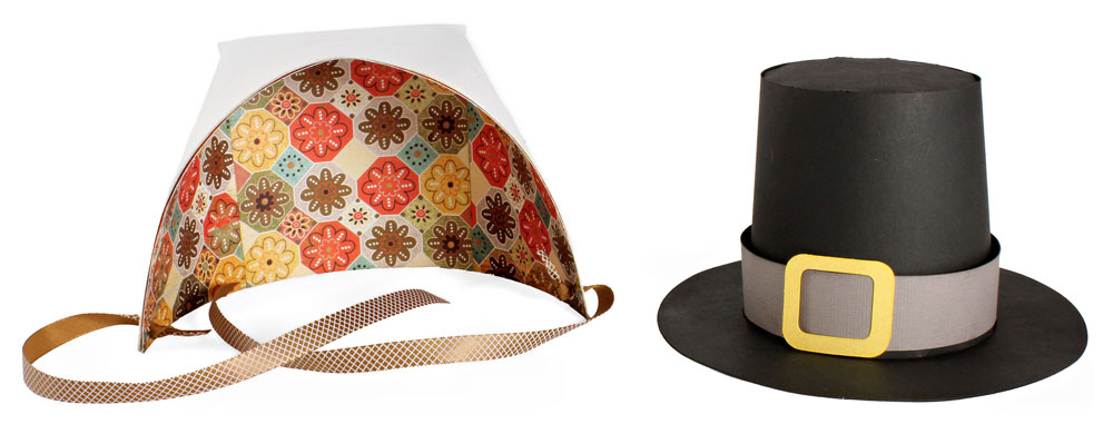 Pilgrim Hat and Bonnet - Pazzles Craft Room a8910c25e30
