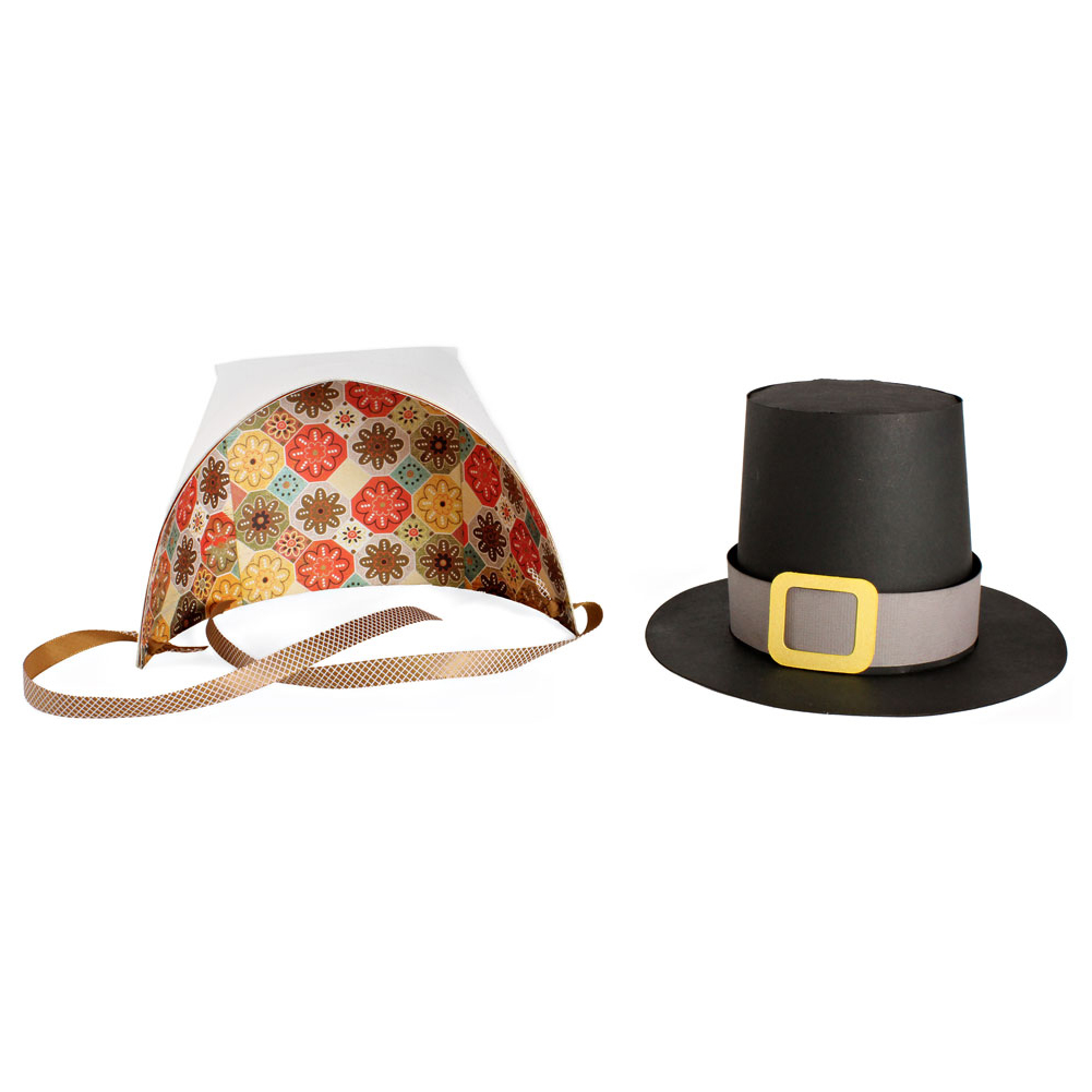 Pilgrim Hat And Bonnet Pazzles Craft Room