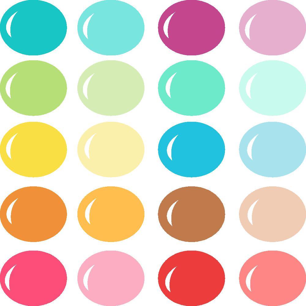 InVue Color Palette: Bright Summer