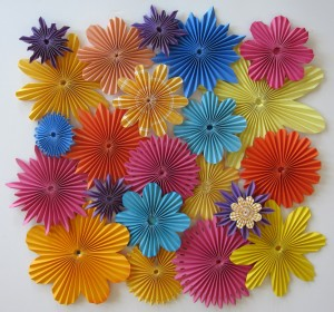Flower rosettes pazzles craft room a couple of months ago i taught you about paper rosettes at the time i had played a bit with making rosette flowers as well but felt that they deserved a mightylinksfo Choice Image