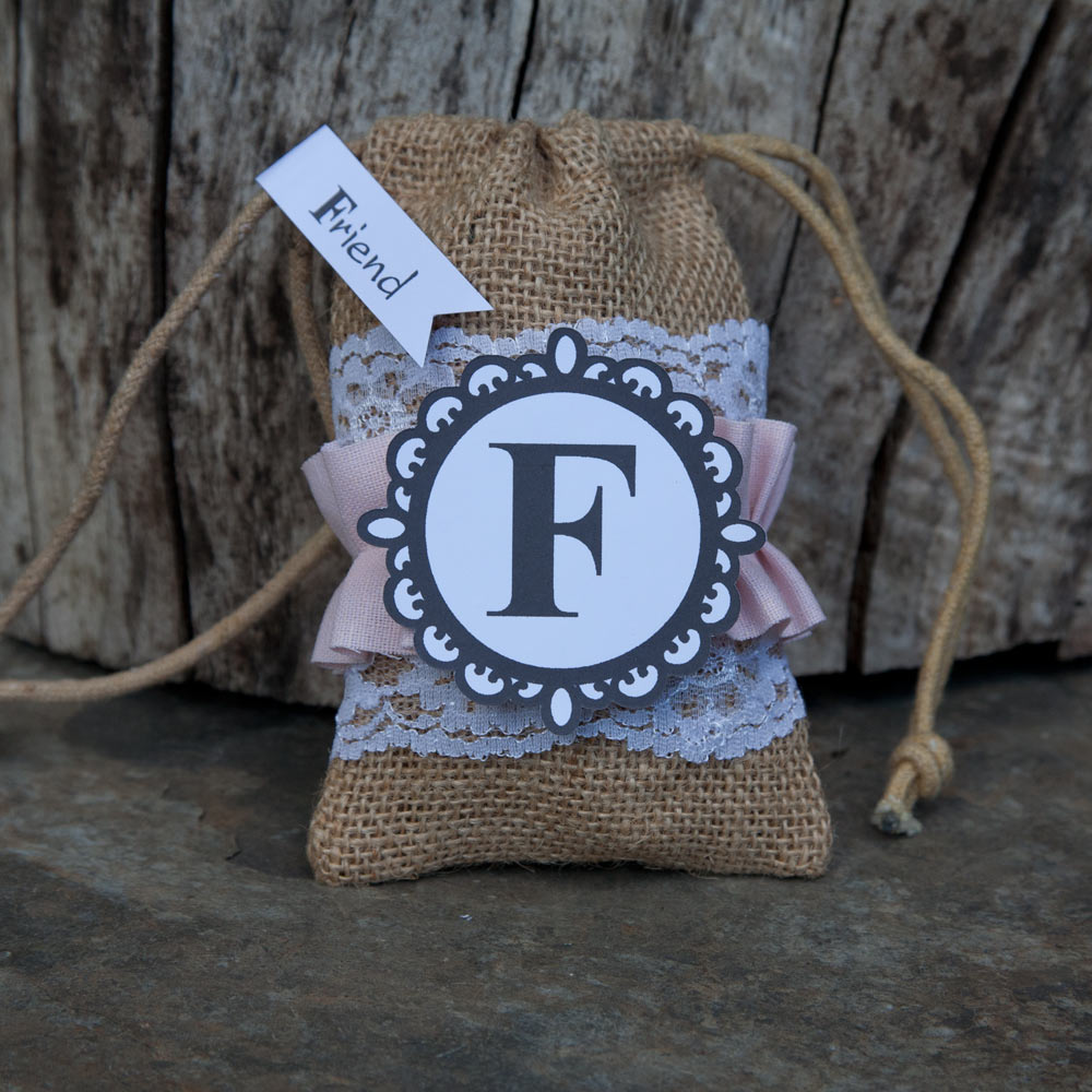 Burlap Treat Bag