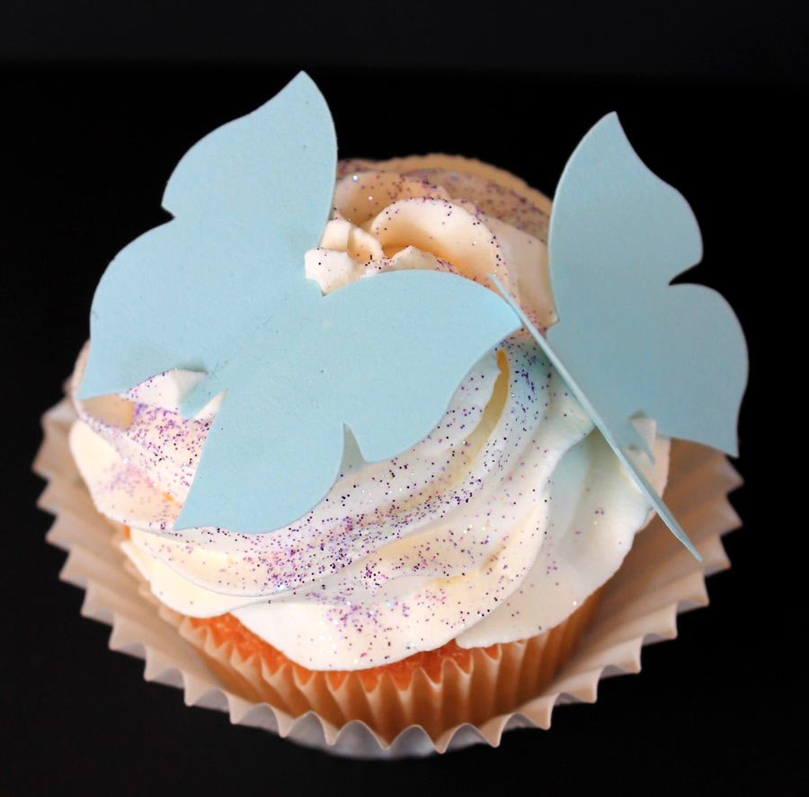 Butterfly Cupcake Decoration with the Pazzles Pastry Tool