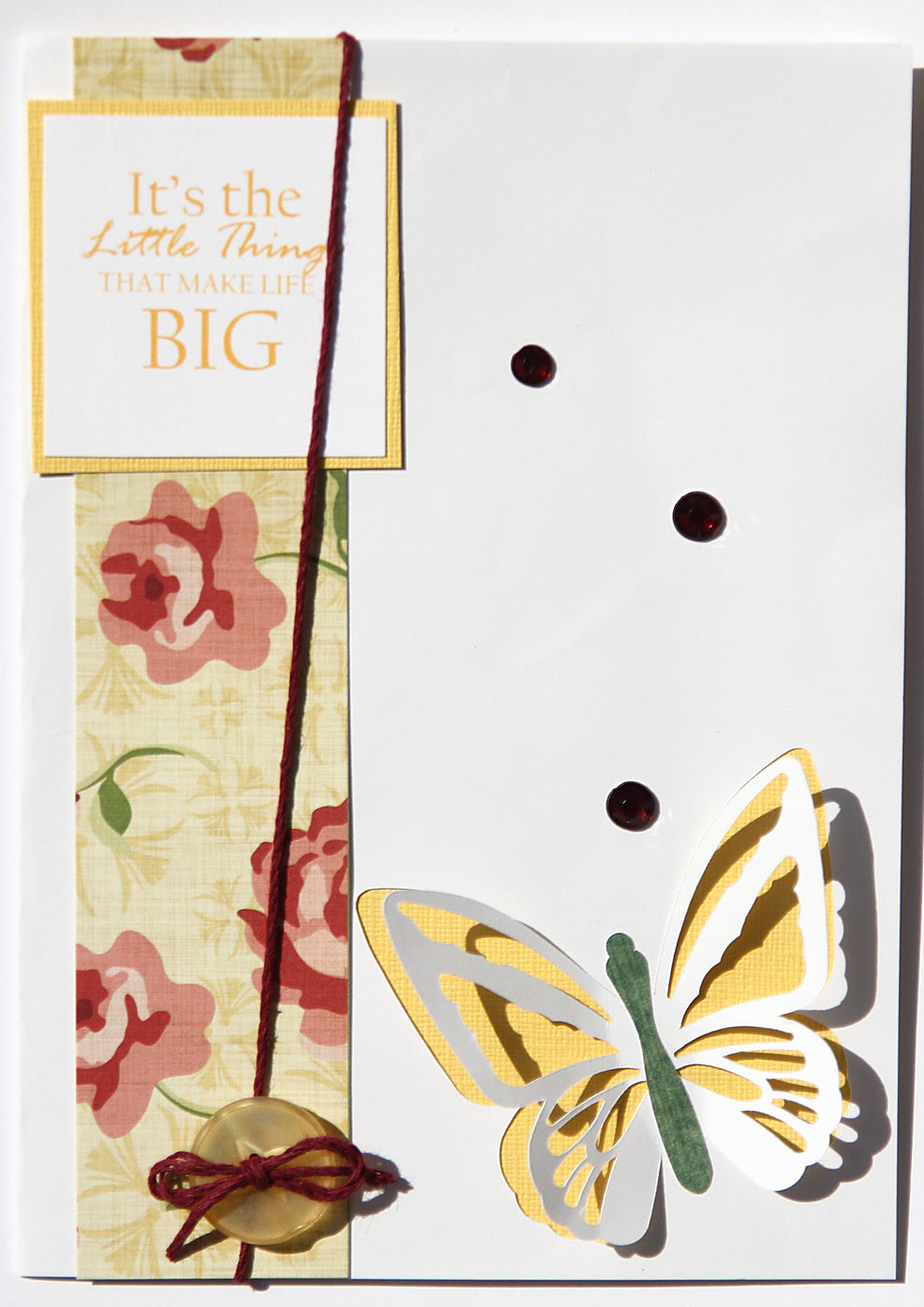 Butterfly Cut Out Out Cards