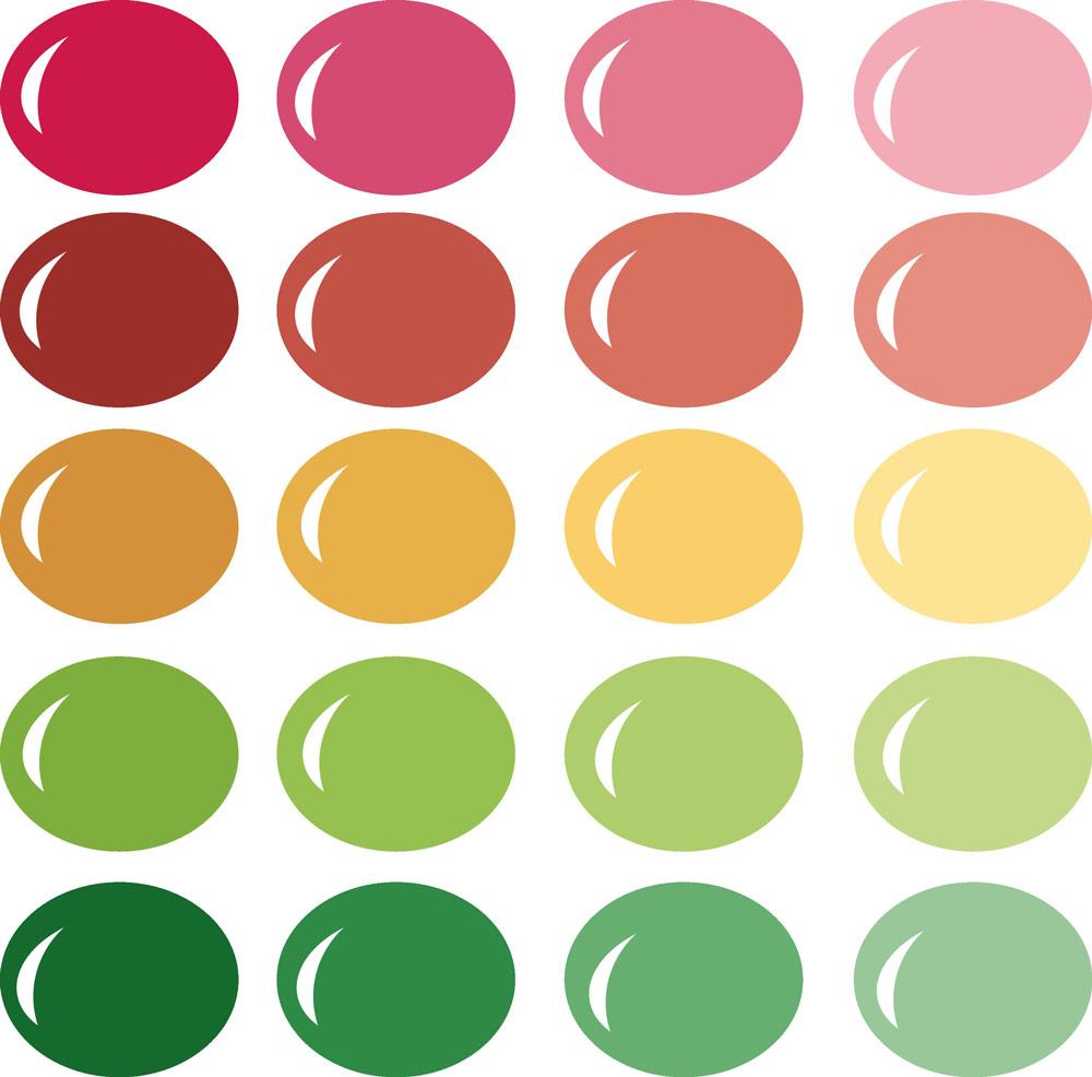 Pazzles InVue Color Palette-So Mod 1