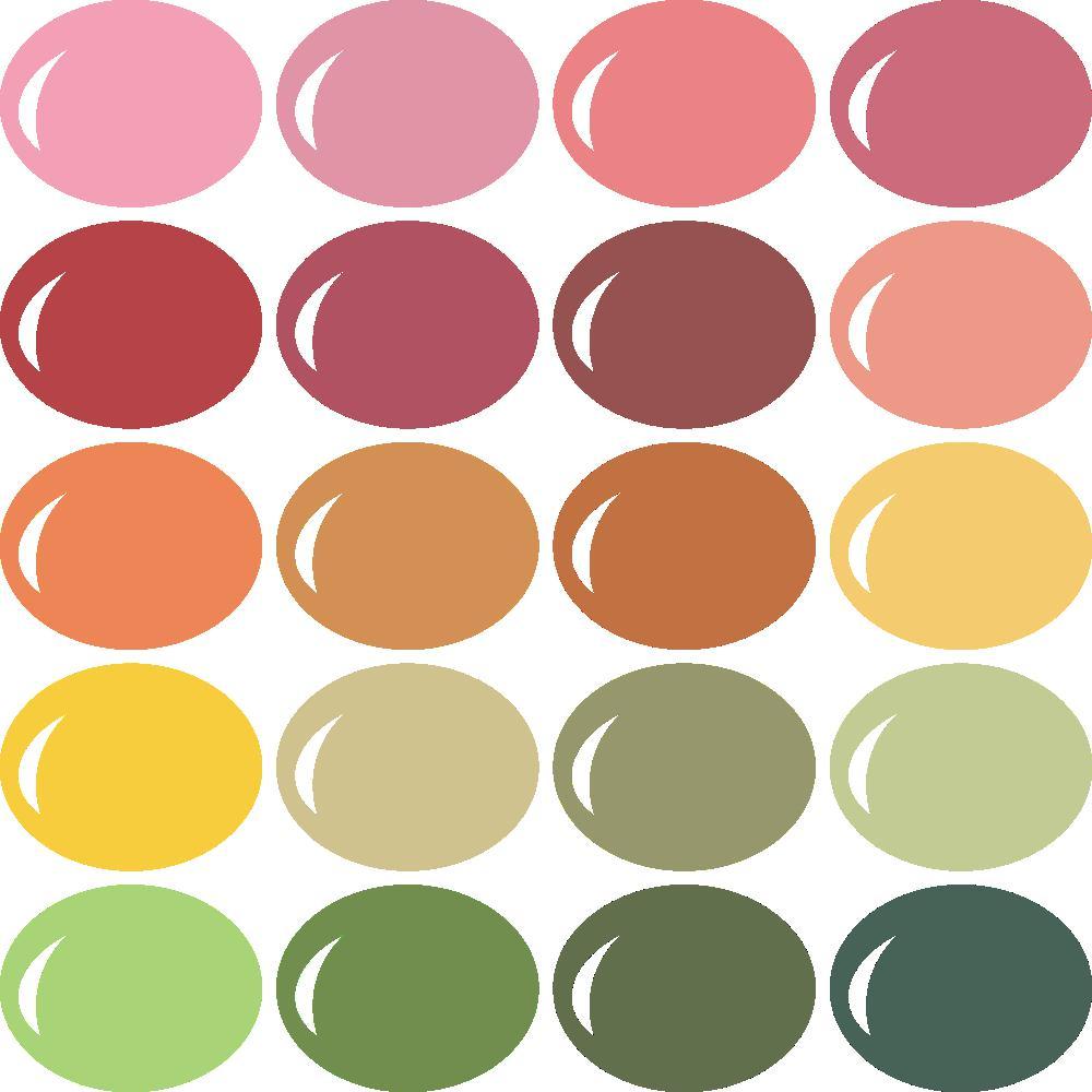 InVue Color Palette: CTMH 1