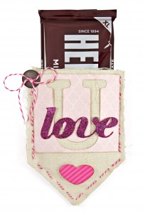Canvas Corp Canvas Shape Pocket Love U Candy Bar Valentine