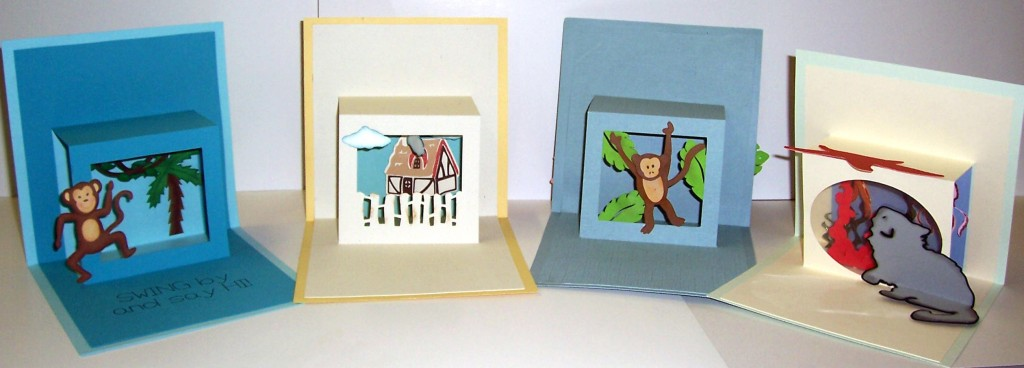 Pop up window card pazzles craft room for Pop up window design