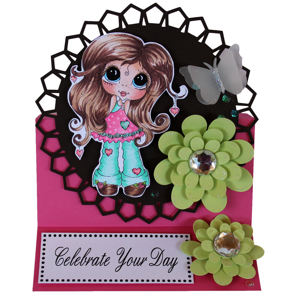 Celebrate Easel Card