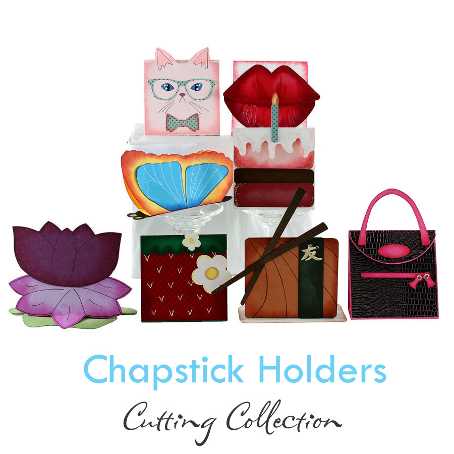 DIY Chapstick Holders Cutting Collection