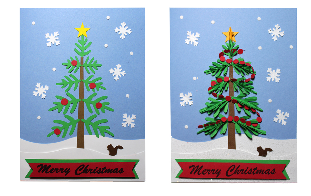 Christmas Cards Simple to Show Stopping