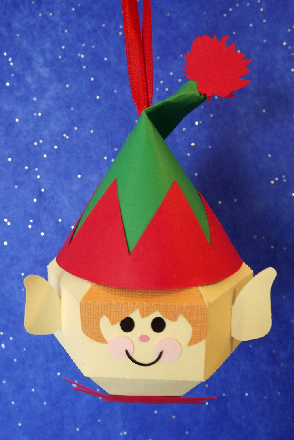 DIY Elf Ornament