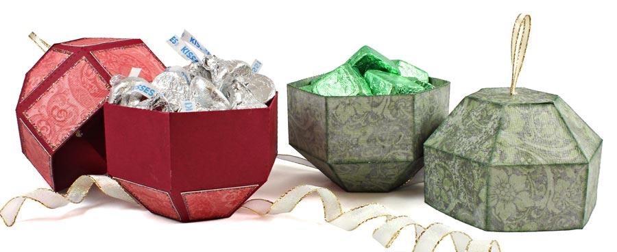 Christmas ornament box pazzles craft room