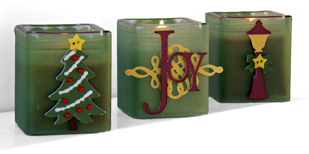 christmas votive holders me - How To Decorate Votive Candle Holders For Christmas