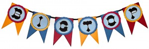 Big Top Circus Banner from Pazzles WPC and SVG cutting files CD 'Party'