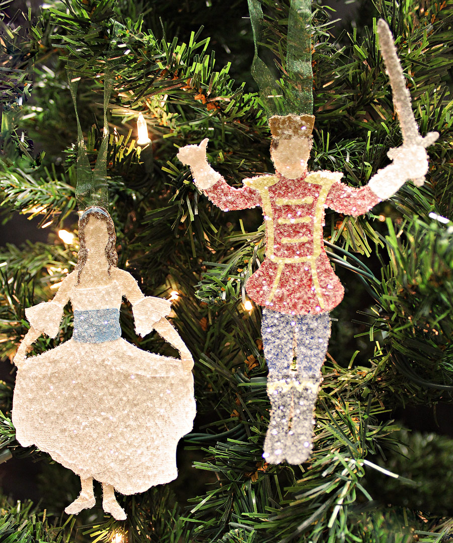 Clara and the Nutcracker Prince from the Nutcracker Ballet SVG, AI, WPC cutting file collection