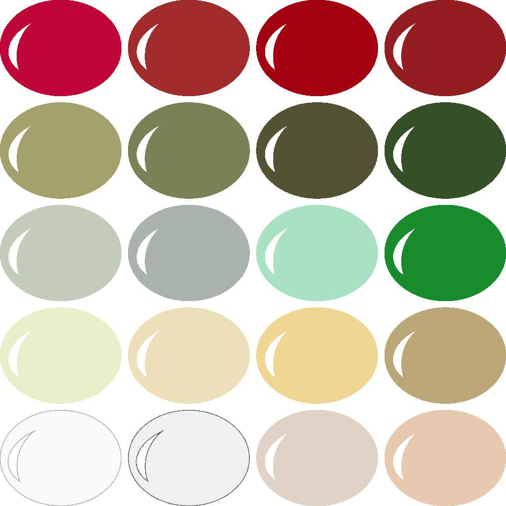 Christmas Color Schemes.Invue Color Palette Classic Christmas Pazzles Craft Room
